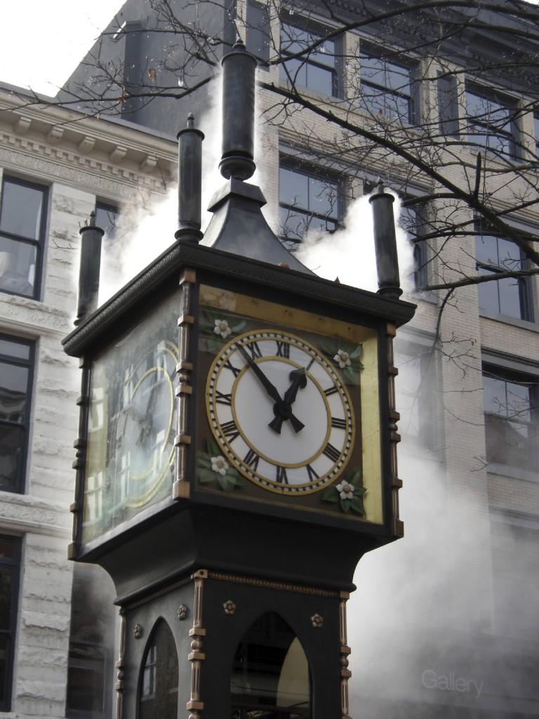 Gastown Steam clock istock