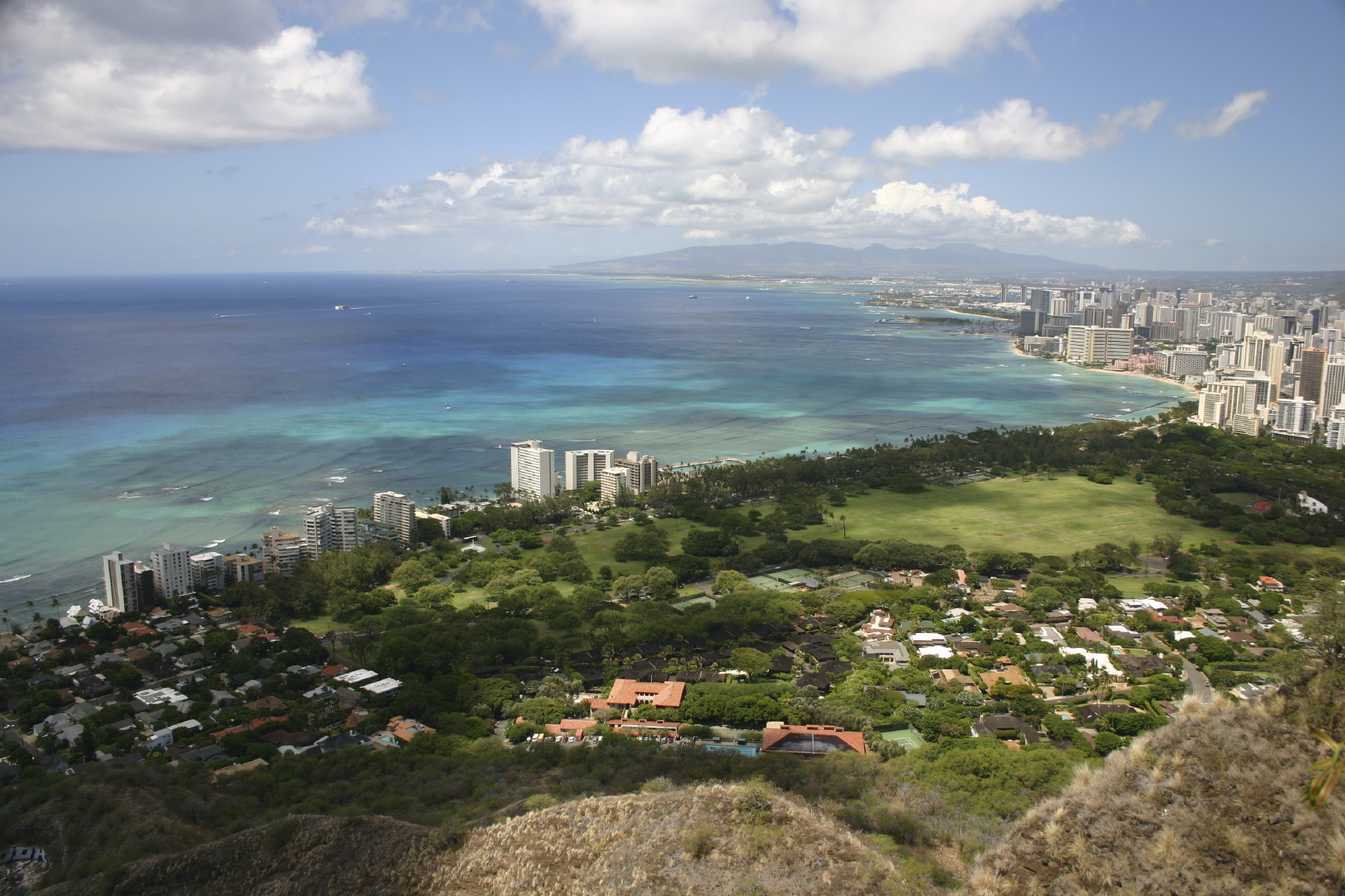 view from diamond head - photo #1