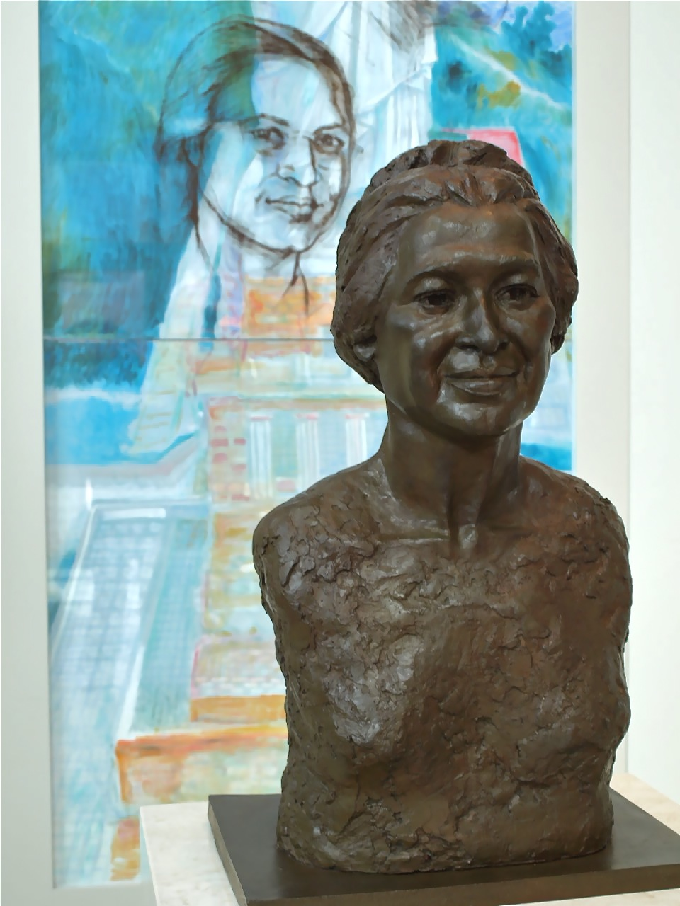 Bust of Rosa Parks Photo credit: Chere Coen