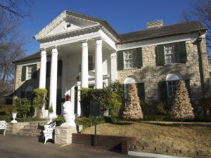 Graceland, home of Elvis Presley. Photo Credit Chere Coen