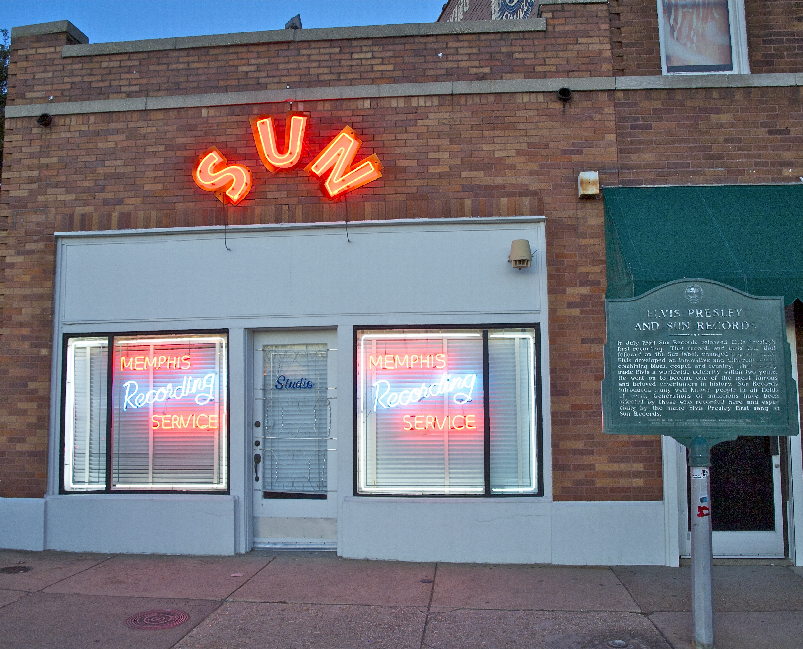 Sun Studio in Memphis - Photo Credit Chere Coen