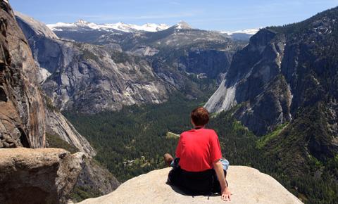 Views at Yosemite National Park